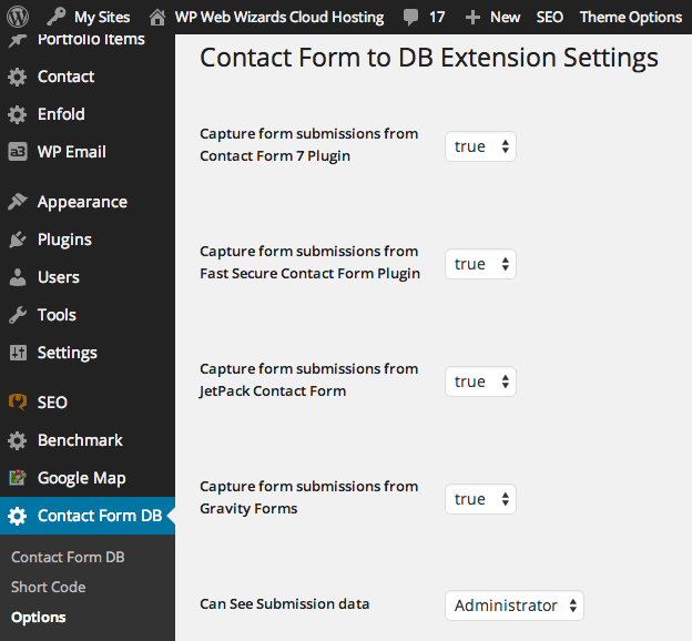 Proactive update for Contact Form DB WordPress plugin to fix whitescreen issue