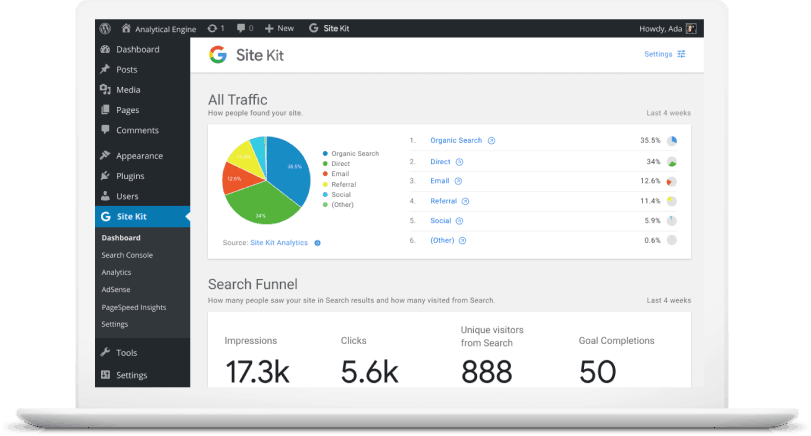 Google Introduces Site Kit WordPress Plugin that Integrates Search Console, Analytics, AdSense, PageSpeed Insights
